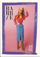 Barbie Fashion Collectable Card - Card No. 134: 1981 - Classic Cowgirl