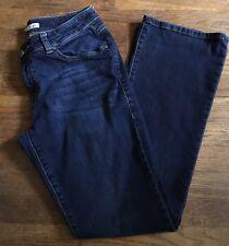 CAbi Jeans Womens Size 6 Dark Wash Slim Boot Cut Denim Style 120