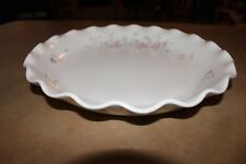 "Pfaltzgraff Tea Rose Fluted 12"" Round Serving/Baking Dish"