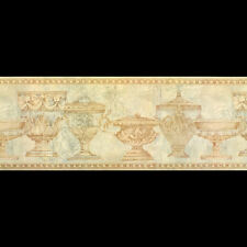 Antique Victorian Vases, Wallpaper Border FF8313B (22.8cm wide x 4.5m long)