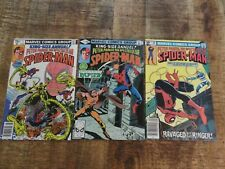 Peter Parker Spectacular Spider-Man #58, King Size Annual 1, 2 VF-NM