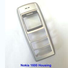 100% Genuine Original Nokia 1600 Front with Lens Panel Fascia Housing - Silver