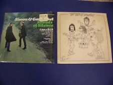 The Who By Numbers & Simon & Garfunkel Sounds of Silence Vinyl LP Lot of 2