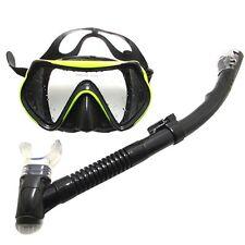 Diver Adult Mask and Snorkel Glasses Set Dive Snorkelling Scuba Diving Equipment