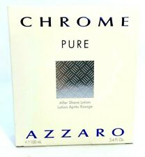 Azzaro Chrome Pure After Shave Lotion ~ 3.4 oz ~ BNIB