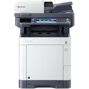 Kyocera ECOSYS M6235cidn A4 Colour Printer Very Low Count Under 7K WARRANTY