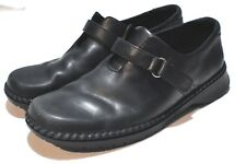 Clarks Black leather Womens shoes size 10