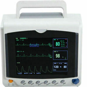CONTEC Patient Monitor CMS6000C Vital Signs Monitor Of ECG,NIBP,SpO2,Pulse Rate