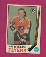 1969-70 OPC # 172 FLYERS BILL SUTHERLAND EX-MT CARD (INV#4560)