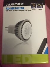 MR16 7W LED Light Bulb Spotlight Downlight Energy Saving GU5.3 DC12V