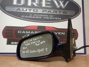Door Mirror JETTA VW LH POWER Left 99 00 01 02 03 04 05 06 07 08 09 10 11