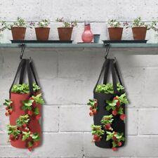 Strawberry or herb Planting Grow Bag Eco-Friendly Planter Bag Felt Patio Garden