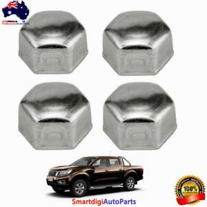 Set of 4 Steering Lock Stop Bolt Caps Nuts For Nissan Navara TERRANO D22 4x4 4WD