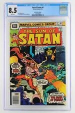 Son of Satan #4 - CGC 8.5 VF+ Marvel 1976 - 30 Cent Variant!!!