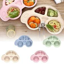 Baby Snack Mat Silicone Non Slip Happy Toddler Placemat Suction Table Plate Dish