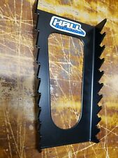 Wrench Rack Organizer by Hall Designs 10 slot, steel. Made in USA (Black)