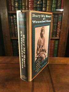 """1973 """"BURY MY HEART AT WOUNDED KNEE"""" by Dee Brown"""