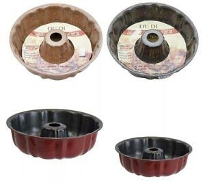 SQ  Non Stick Cake Mould Fluted Ring Cake Tin 24cm  Cake Pan Tray Baking