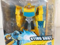 Transformers Cyberverse Sting Shot Bumblebee Action Attackers ~ Creases