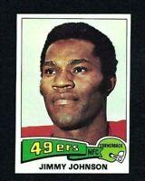 NM 1975 Topps #89 Jimmy Johnson HOF.