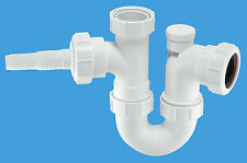 McAlpine Anti -Syphon Sink Trap with Horizontal Nozzle          WM2V