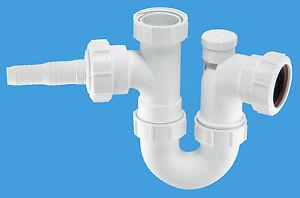 McAlpine Anti -Syphon Sink Trap with Horizontal Nozzle          WM2V