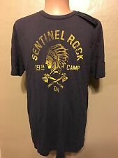 Polo Ralph Lauren Indian Chief Pwing Bear 92 Blue T Tee Shirt Size Large L