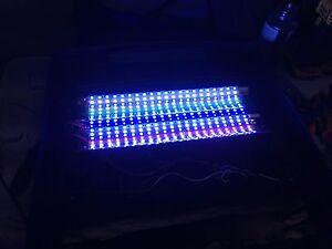 Full spectrum 70W LED retrofit Upgrade Bio-Cube 29 gallon Reef aquarium Light