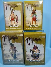 black hawk toy soldiers 54mm the Indians 4 figures FW-0202/03/212/215 2013 mib
