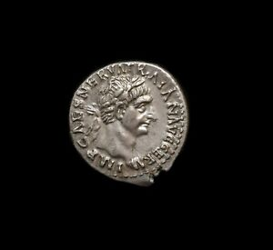 #4,TRAJAN. 98-117 AD. AR Denarius.1st year issue.
