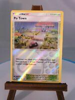 Po Town 121//147 Reverse Holo ~ Pokemon S/&M Burning Shadows ~ Pack Fresh