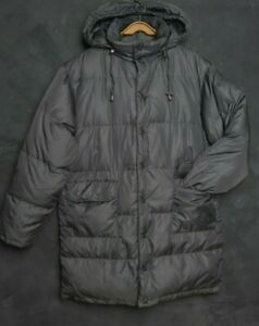 Aspesi Italy Men Jacket M Down Coat Quilted Parka Padded Goose Down Puffer Hood