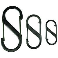 Nite Ize SB4-03-01 3.52 X 1.57 X 0.31 #4 Black S-Biner� Dual Carabiner