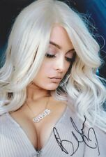 """BEBE REXHA """"Expectations"""" Foto 20x30 signiert signed IN PERSON Autogramm RAR"""