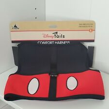 New Disney Parks Tails Large L Pet Dog Comfort Harness Mickey Mouse Costume Nwt
