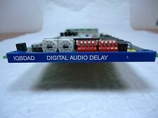 SNELL & WILCOX IQBDAD 4 CHANNEL DIGITAL AUDIO DELAY CARD WITH REAR MODULE