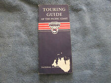 1972 Touring Guide of the Pacific Coast National Automobile Club