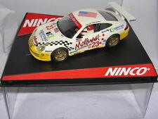 "Ninco 50304 Slot car Porsche 911 Gt3-r #23 "" Alex Job "" L.LUHR-S.MAASSEN MB"