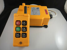 2 Transmitters 6 Channels Hoist Crane Radio Remote Control System 220V AC