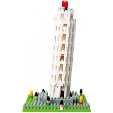 NEW NANOBLOCK Tower Torre of Pisa - Building Blocks Nanoblocks Nano NBH-030