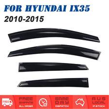 Weathershields Weather shields Window Visor Strips For Hyundai IX35 2010 to 2015