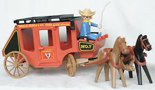 Playmobil Vintage Stage Coach Wester Horses Wagaon 3245y 3245 4431 7428 3245x