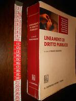 LIBRO:Lineamenti di Diritto Pubblico Modugno Giappichelli ed. 2008