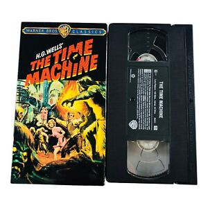 H.G.Wells' The Time Machine (VHS, 2001) Starring Rod Taylor