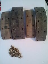 Flxible,Hudson,Kaiser,Nash,rambler,Willys 1221/1251 Brake Lining  W/Brass Rivets
