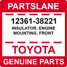 12361-38221 Toyota OEM Genuine INSULATOR, ENGINE MOUNTING, FRONT