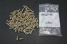 120 NAS624 - H6  Mil-Spec Bolts   1/4-28 *.860 12pt with Drilled hole