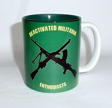 Deactivated Militaria Enthusiasts Mug DME Cup