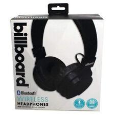 Billboard bluetooth  wireless headset black