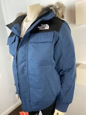 The North Face Mens Gotham Jacket 550 Down/DryVent Large In Blue Wing Teal BNWT